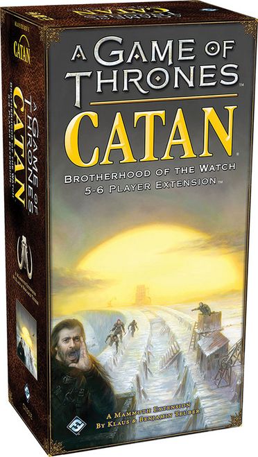 A Game of Thrones: Catan - Brotherhood of the Watch  5-6 Player Extension