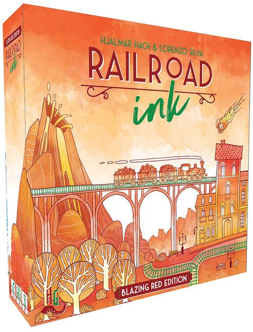 Railroad Ink: Blazing Red