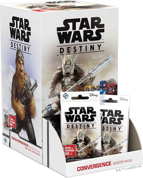 Star Wars Destiny: Convergence Booster Display