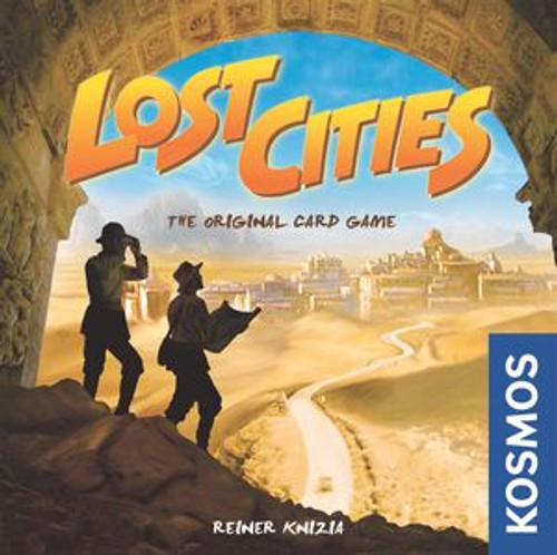 Lost Cities Card Game with Expansion