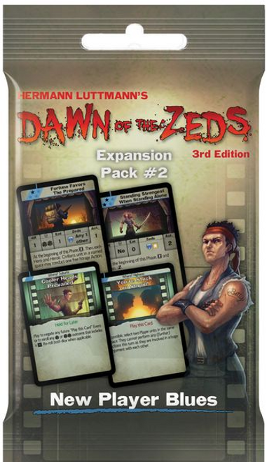 Dawn of the Zeds ( Third Edition ) New Player Blues Expansion