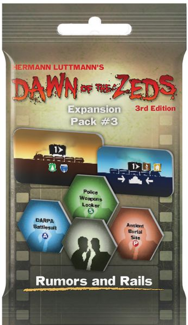Dawn of the Zeds ( Third Edition ) Rumors and Rails Expansion