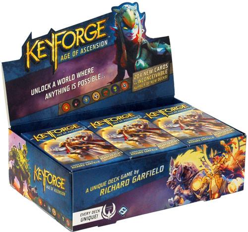 KeyForge: Age of Ascension Deck Display