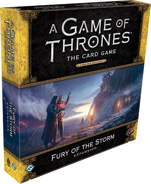 A Game of Thrones: The Card Game (Second Edition) - Fury of the Storm