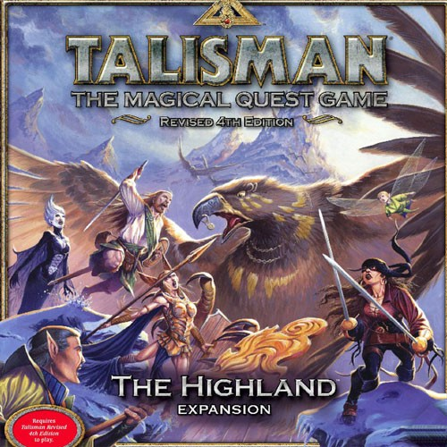 Talisman Revised 4th Edition: The Highland Expansion