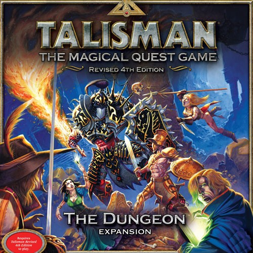Talisman Revised 4th Edition: The Dungeon  Expansion