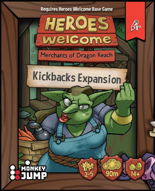Heroes Welcome: Kickbacks
