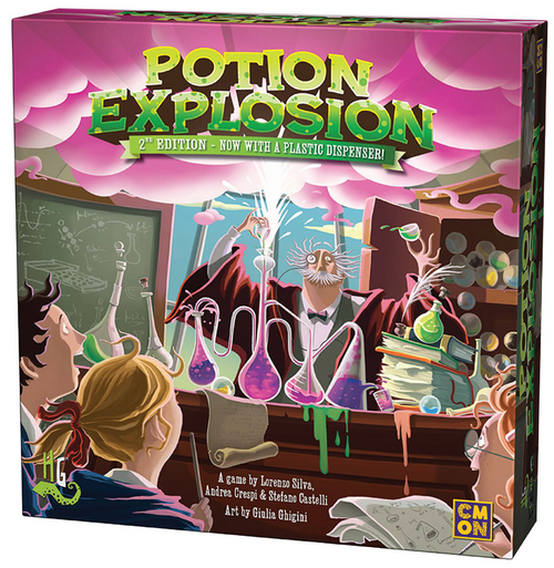 Potion Explosion ( second edition )