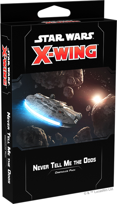Star Wars X-Wing: 2nd Edition - Never Tell Me the Odds Obstacles Pack