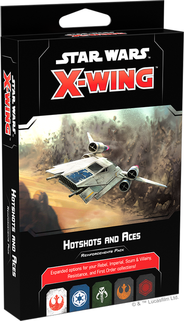 Star Wars X-Wing: 2nd Edition - Hotshots and Aces Reinforcements Pack