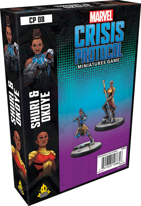 Marvel: Crisis Protocol - Shuri and Okoye Character Pack