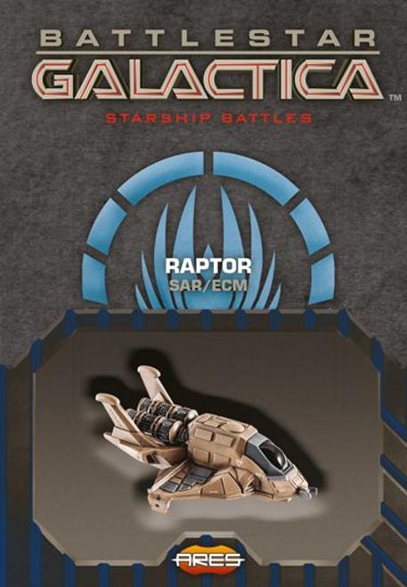 Battlestar Galactica: Spaceship Pack - Raptor (SAR/ECM)