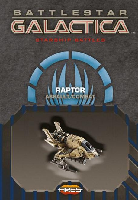 Battlestar Galactica: Spaceship Pack - Raptor (Assault/Combat)
