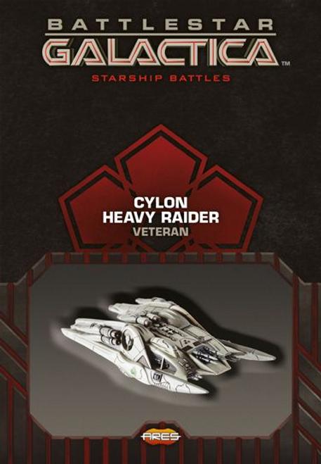 Battlestar Galactica: Spaceship Pack - Cylon Heavy Raider (Veteran)