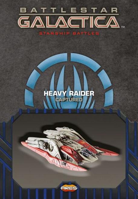 Battlestar Galactica: Spaceship Pack -  Heavy Raider (Captured)