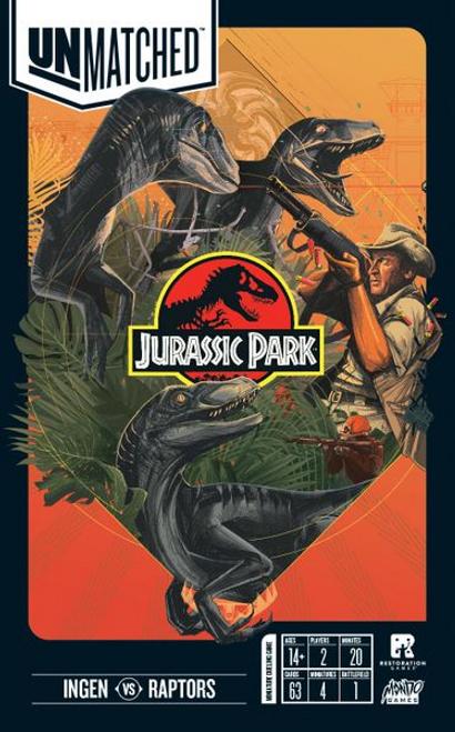Unmatched: Jurassic Park - InGen vs Raptors