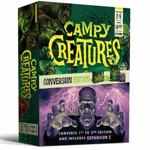 Campy Creatures ( second edition ): Conversion