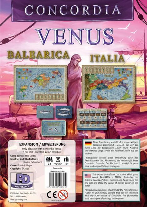 Concordia: Balearica / Italia