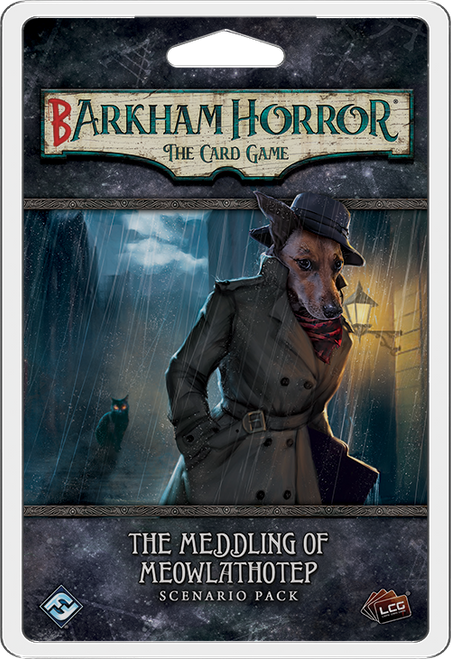Barkham Horror: The Card Game - The Meddling of Meowlathotep Scenario Pack