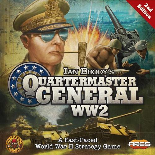 Quartermaster General: WW2 - ( second edition )