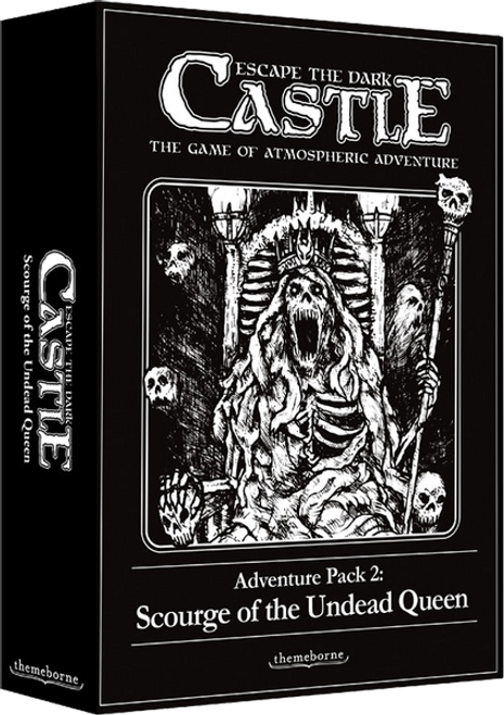 Escape the Dark Castle: Scourge of the Undead Queen