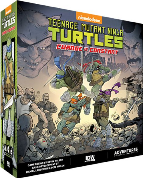 Teenage Mutant Ninja Turtles Adventures: Change is Constant