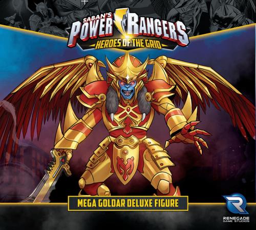 Power Rangers: Heroes of the Grid – Mega Goldar Deluxe Figure