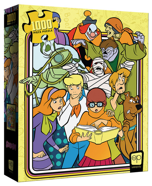 Scooby-Doo Those Meddling Kids 1000 Piece Puzzle