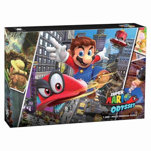 Super Mario Odyssey Snapshots 1000 Piece Premium Puzzle
