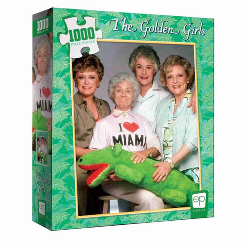 The Golden Girls I Heart Miami 1000 Piece Puzzle