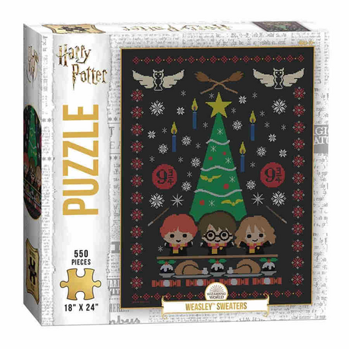 Harry Potter Weasley Sweaters 550 Piece Puzzle