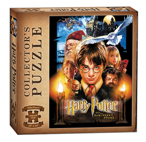 Harry Potter and the Sorcerer's Stone 550 Piece Puzzle