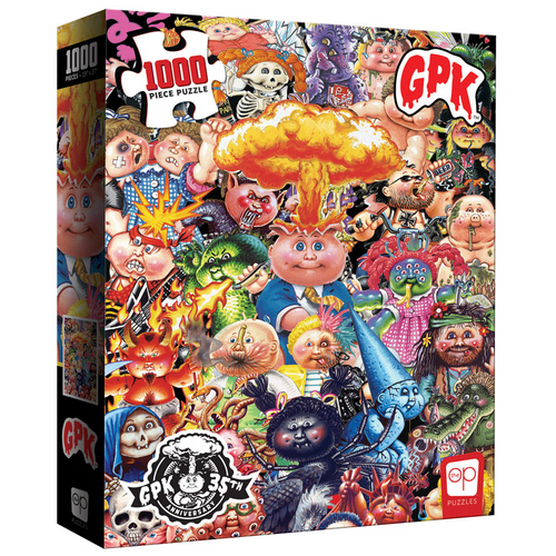 Garbage Pail Kids Yuck 1000 Piece Puzzle