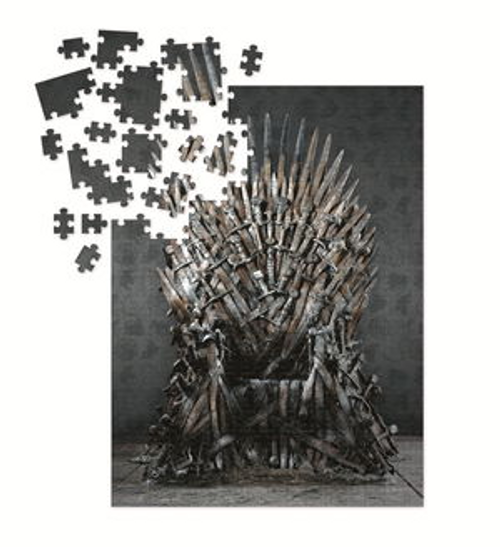 Game Of Thrones: Iron Throne 1000 Piece Puzzle