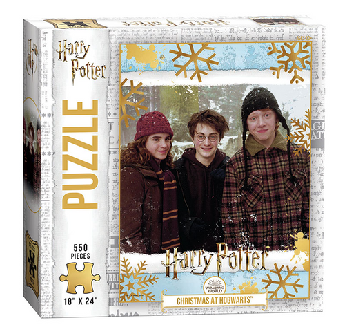 Harry Potter Christmas at Hogwarts 550 Piece Puzzle