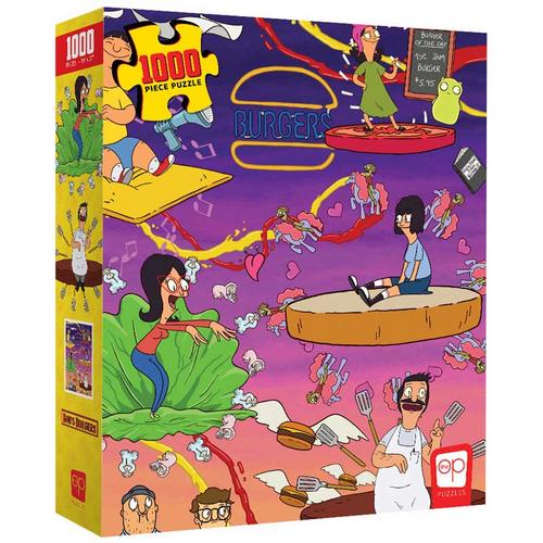 Bob's Burgers Burger Dreams 1000 Piece Puzzle