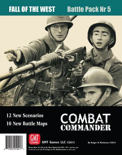 Combat Commander: Battle Pack #5 – Fall of the West