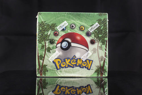Pokemon Jungle Unlimited Booster Pack (Danny Phantump box break)