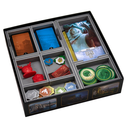 Box Insert: 7 Wonders Duel & Pantheon Expansion