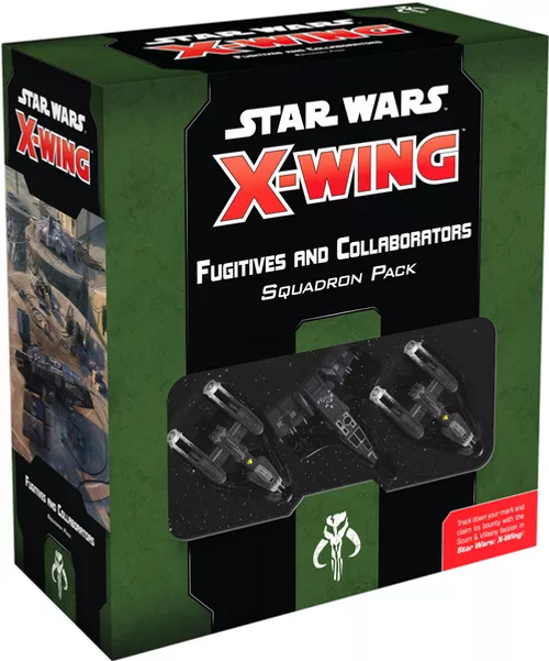 Star Wars X-Wing: 2nd Edition - Fugitives and Collaborators Squadron Pack