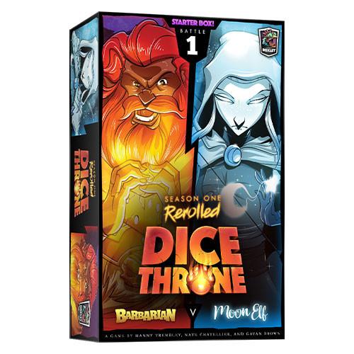 Dice Throne: Season 1 Rerolled - Box 1 - Barbarian vs. Moon Elf