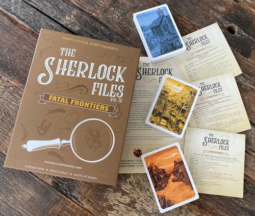Sherlock Files: Vol. IV - Fatal Frontiers