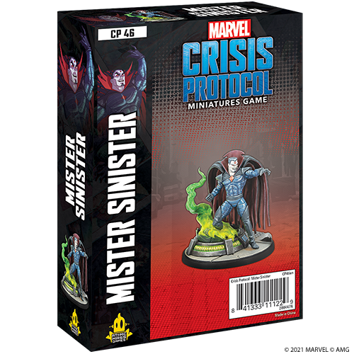 Marvel: Crisis Protocol - Mister Sinister Character Pack