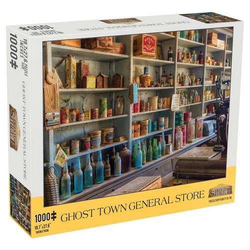 Puzzle: Ghost Town General Store 1000pc
