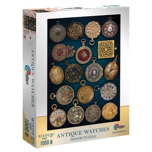 Puzzle: Antique Watches 1000pc