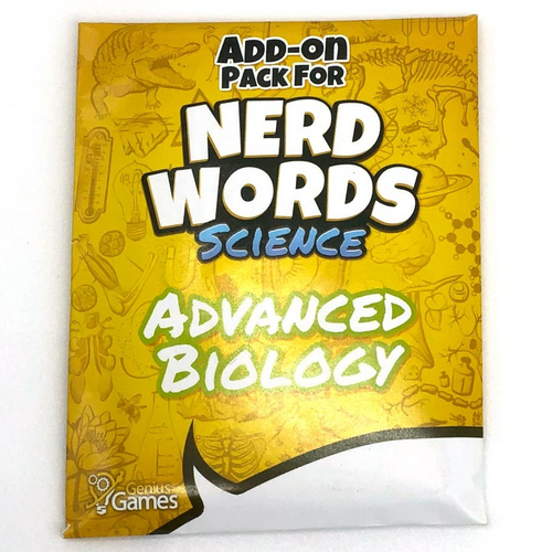 Nerd Words: Science Advanced Biology