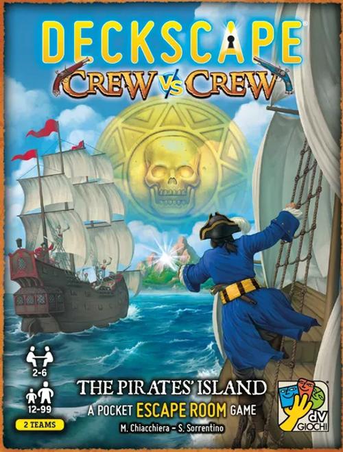 Deckscape Crew vs Crew: The Pirates' Island