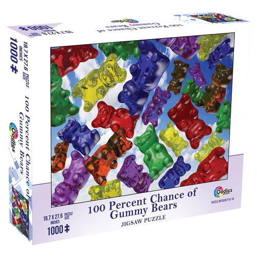 Puzzle: 100% Chance of Gummy Bears 1000pc