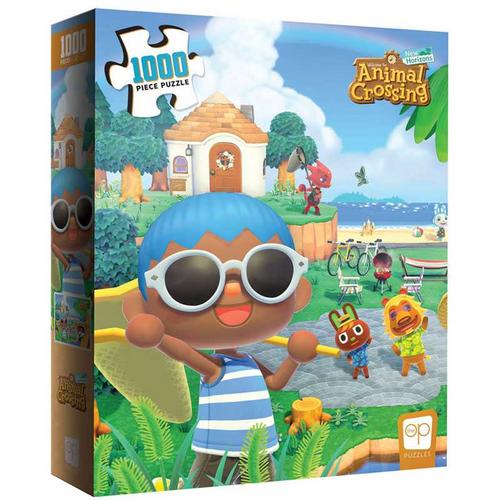 Animal Crossing Summer Fun 1000 Piece Puzzle
