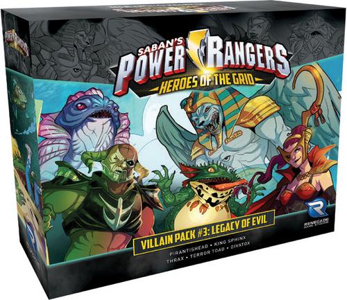 Power Rangers: Heroes of the Grid – Villain Pack #3